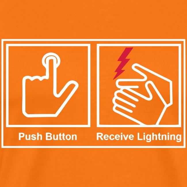 push button receive light