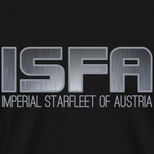 ISFA Logo Abzeichen3 - Männer Premium T-Shirt