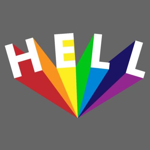 Hell Rainbow Weiß - Männer Premium T-Shirt
