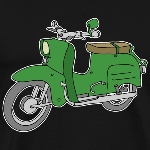 Grüne Schwalbe, Moped - Koszulka męska Premium