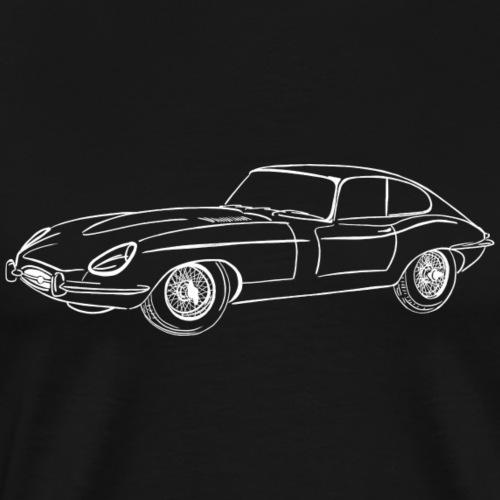 jaguar e-type - T-shirt Premium Homme