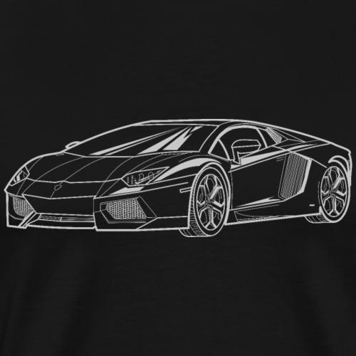 Aventador LP700-4 - T-shirt Premium Homme