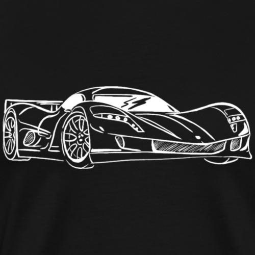 aspark owl : voiture de sport électrique - T-shirt Premium Homme