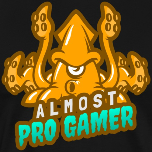 Almost pro gamer YELLOW - Maglietta Premium da uomo