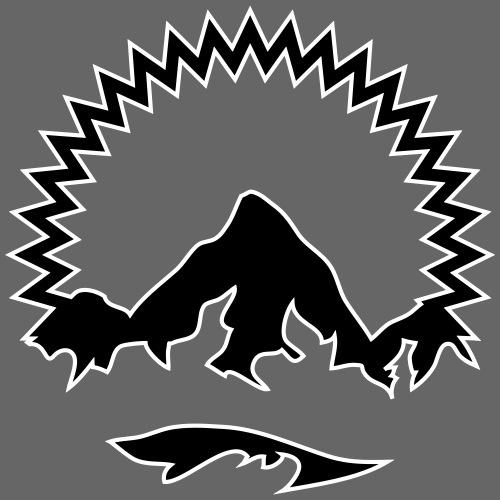 TVA Logo mit Kontur individualisierbar - Männer Premium T-Shirt
