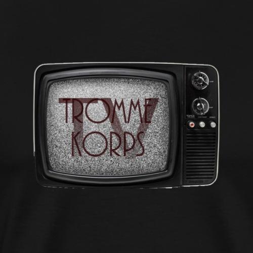 TK TV Clipart - Herre premium T-shirt