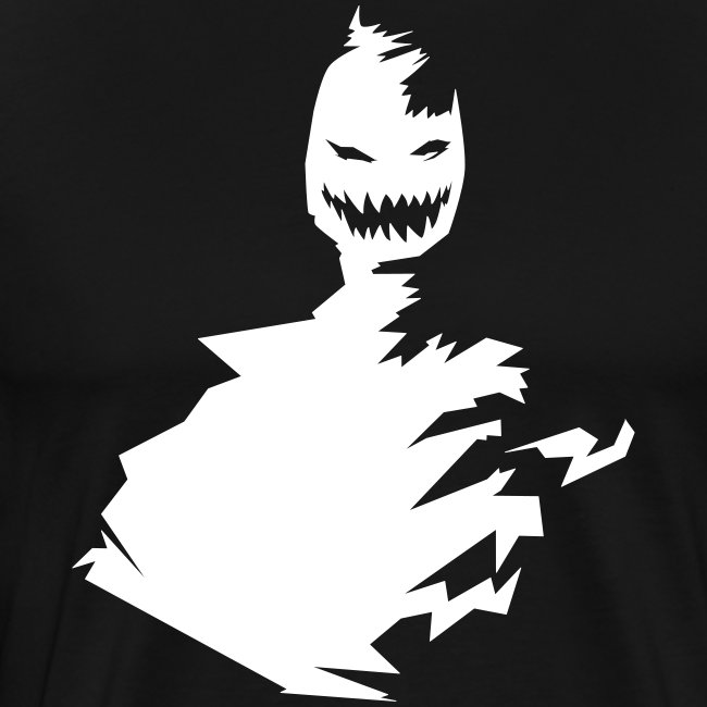 t-shirt monster (white/weiß)