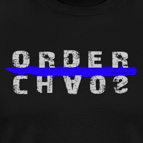 Order/Chaos - Männer Premium T-Shirt