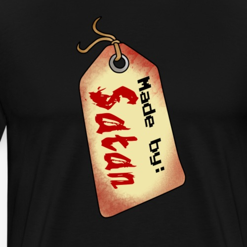 Made by SATAN - Männer Premium T-Shirt