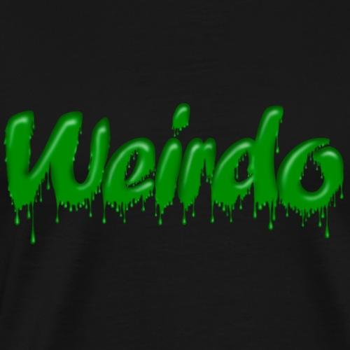 Green Gloop Weirdo - Men's Premium T-Shirt