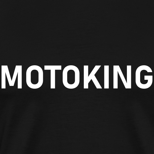 moto król - Koszulka męska Premium