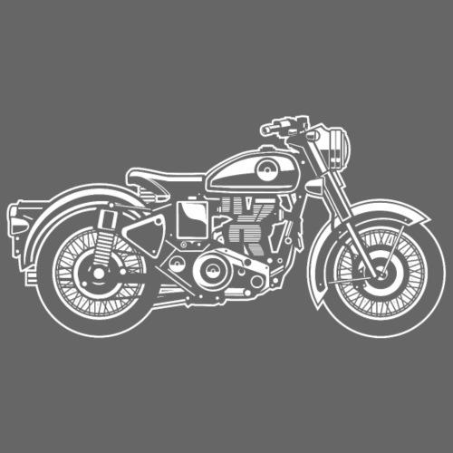 Motorrad / Classic Motorcycle 04_weiß - Männer Premium T-Shirt