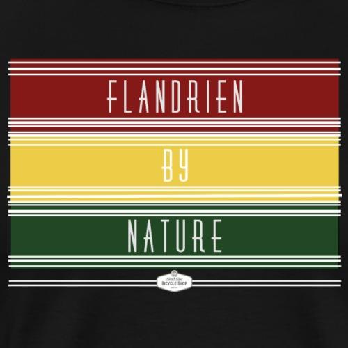 T SHIRT FLANDRIEN BY NATURE - Mannen Premium T-shirt