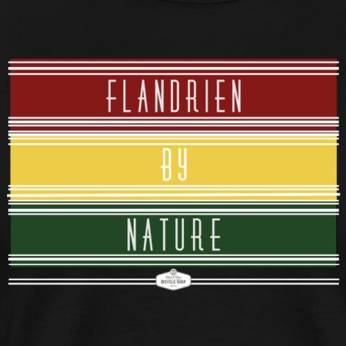 T SHIRT FLANDRIEN BY NATURE - Mannen Premium T-shirt