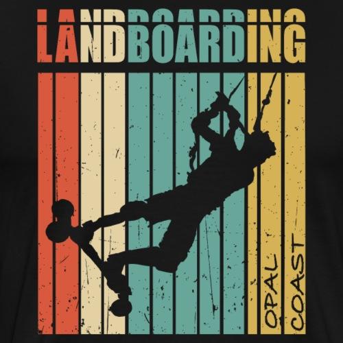 Kite Landboarding OPAL COAST - T-shirt Premium Homme
