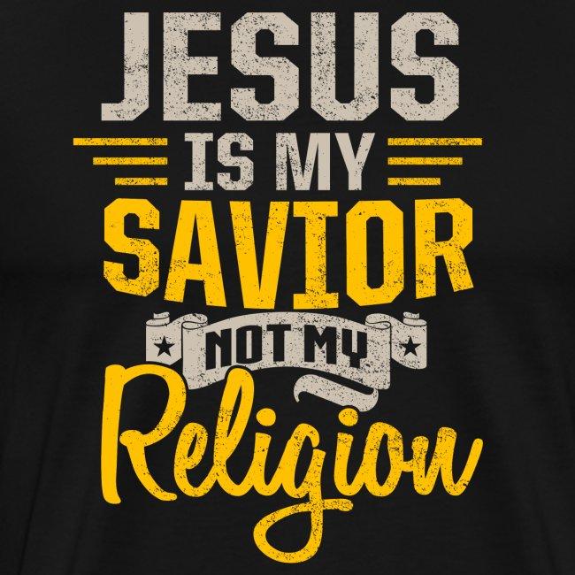 Jesus ist mein Retter Christliches Sprüche Tshirt
