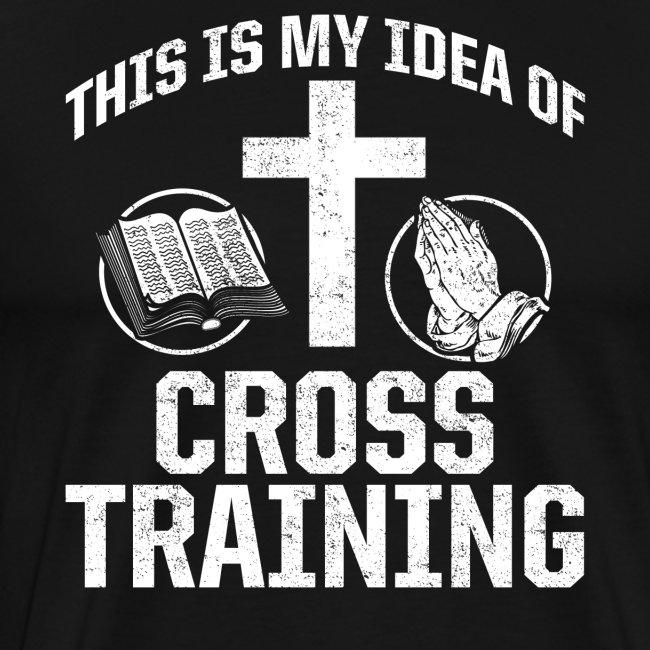 Sport mit Jesus und Bibel lesen Christen Spruch