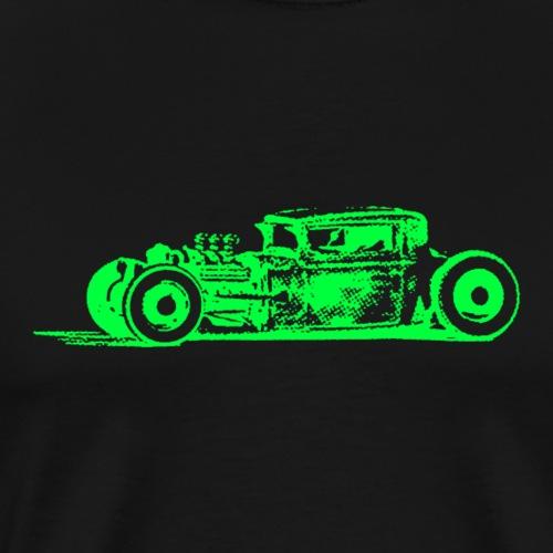 Green Hotrod - Männer Premium T-Shirt