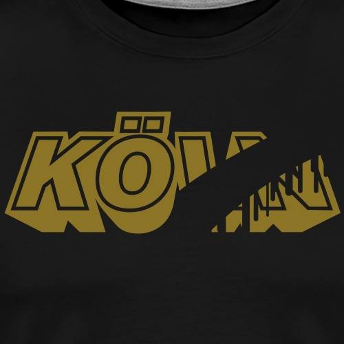 Kö statt Köln - Männer Premium T-Shirt