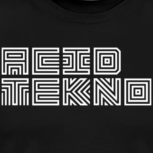 Acid Teko Stripe - Männer Premium T-Shirt