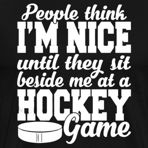 Hockey Shirt - Men's Premium T-Shirt