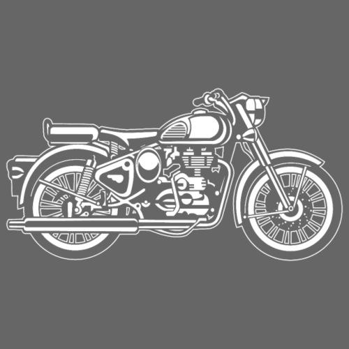 Motorrad / Motorcycle 02_weiß - Männer Premium T-Shirt