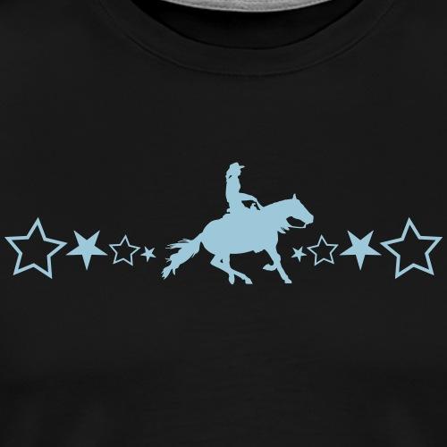 Slider-Pferd mit Sternen