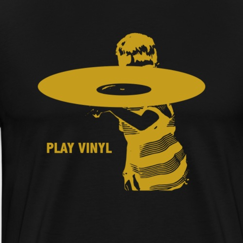 T-Record - Play Vinyl - Mannen Premium T-shirt