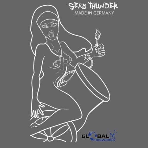 Feuerwerk Sexy Thunder - Männer Premium T-Shirt