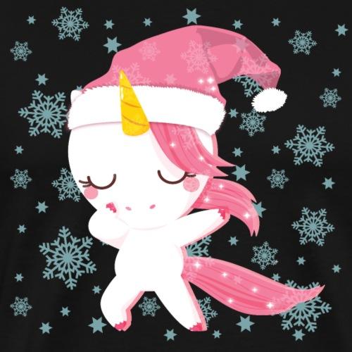 Dub, dubbing Einhorn Weihnachten tanzender Unicorn