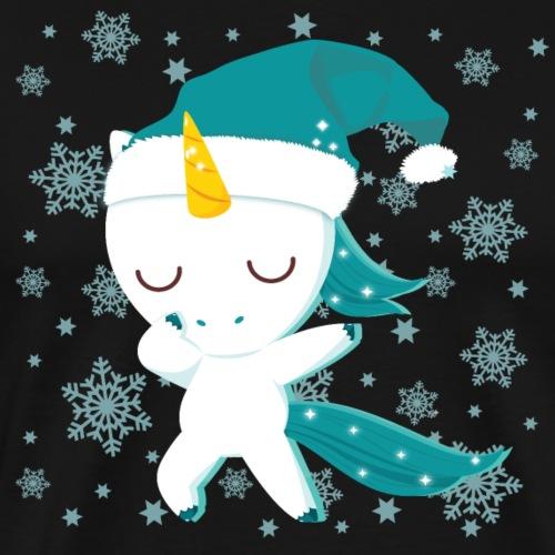 Dub, dubbing Einhorn Weihnachten tanzen Unicorn