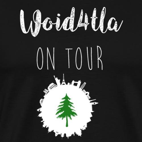 Woid4tla on Tour - Männer Premium T-Shirt