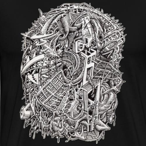 Weirdhead by Brian Benson - Men's Premium T-Shirt