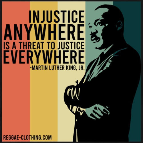 INJUSTICE - Martin Luther King - Männer Premium T-Shirt