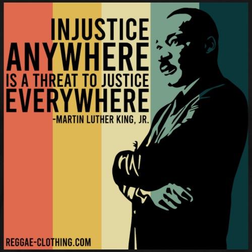 INJUSTICE - Martin Luther King - Männer Premium T-Shirt