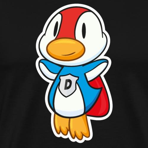 Fliegende Super-Ente hat Superkräfte - Männer Premium T-Shirt