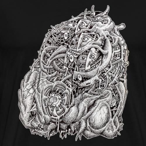 Cosmographic Head - Men's Premium T-Shirt