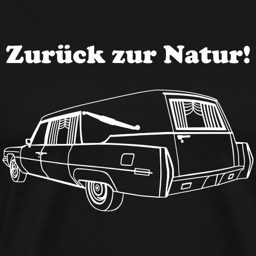 Zurück zur Natur - Männer Premium T-Shirt