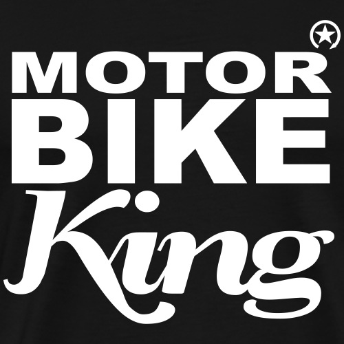 Motorbike King - Men's Premium T-Shirt