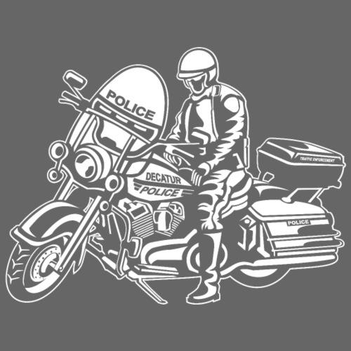 Motorradpolizei / Motorcycle Police 01_weiß - Männer Premium T-Shirt