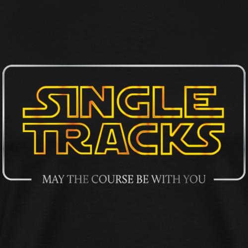 Single Tracks - Men's Premium T-Shirt
