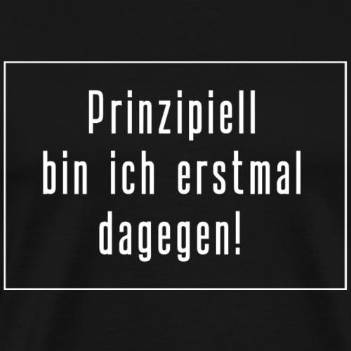 no mainstream - Männer Premium T-Shirt
