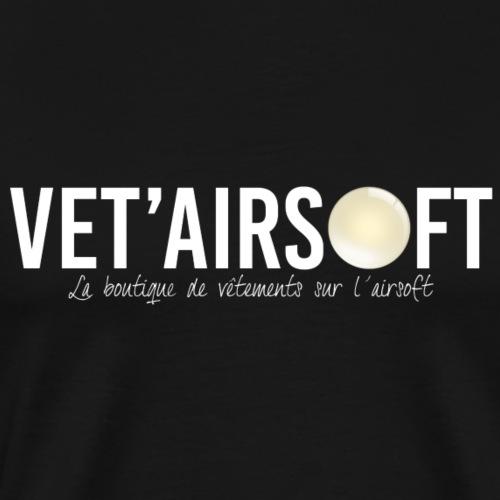 Logo Vet'Airsoft (blanc)
