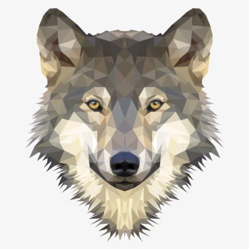 Wolf - Koszulka męska Premium