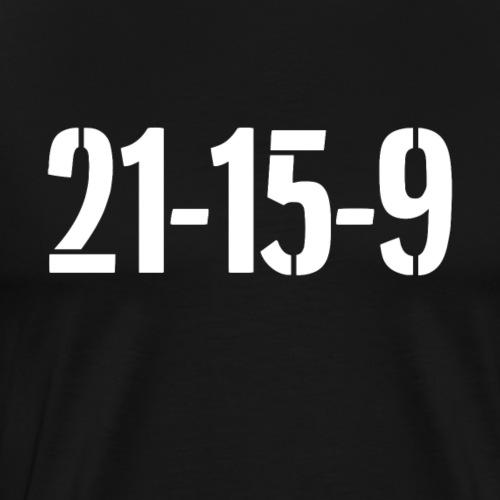 21-15-9 Fitness Shirt - Männer Premium T-Shirt