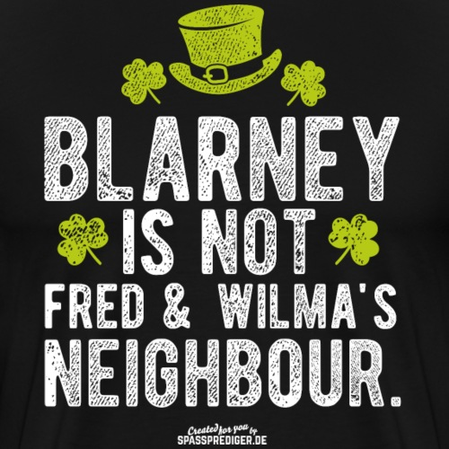 Funny St. Patrick's Day Shirt Blarney - Männer Premium T-Shirt