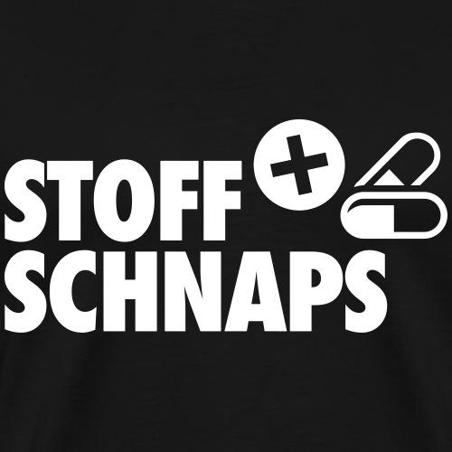 Stoff & Schnaps - Männer Premium T-Shirt