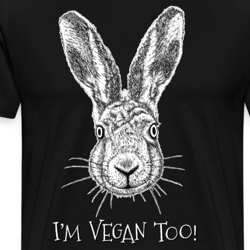 I'm Vegan Too! - Men's Premium T-Shirt