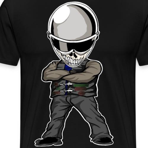 Böser Streetfighter - Männer Premium T-Shirt