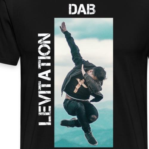 DAB levitation motif blanc - T-shirt Premium Homme